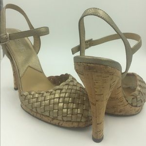 MICHEAL KORS  perfect summer heels ! Size 7M